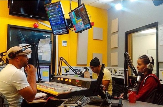 Hashtag Crew at Vibe 105.5FM