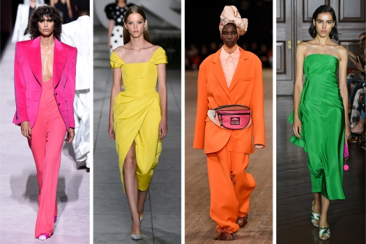 Spring 2018 Trends Colour