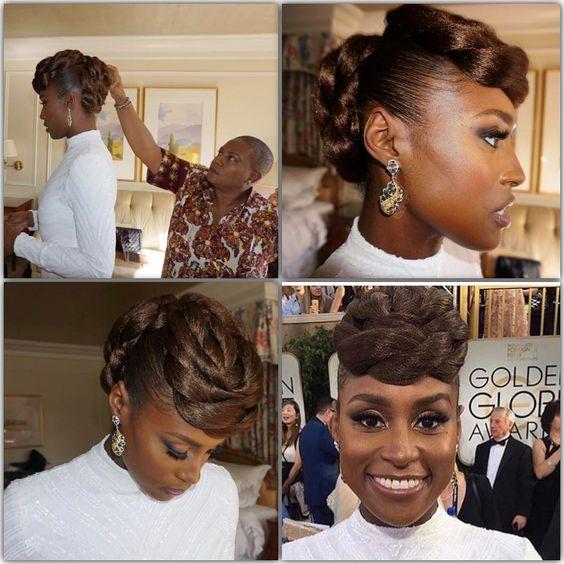 #HairGoals Issa Rae