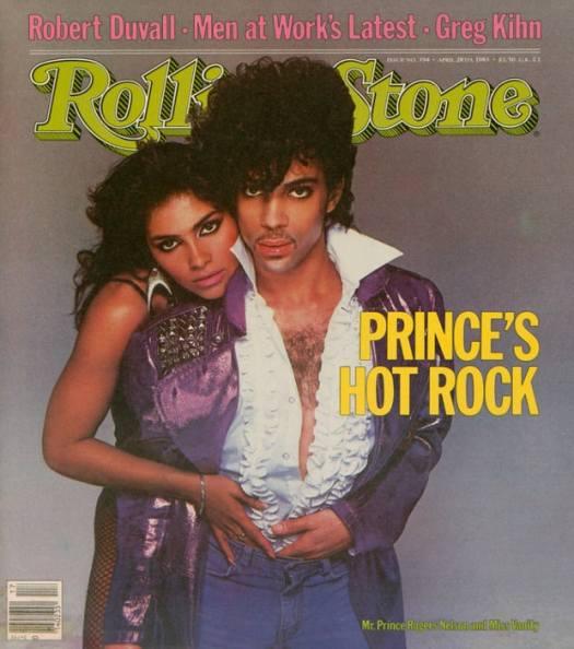 Prince & Vanity Rolling Stone Magazine